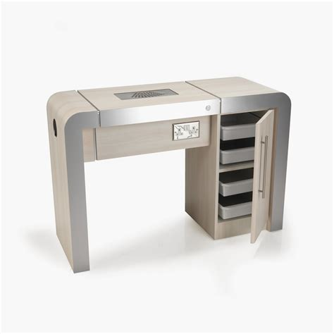 nail bar table station rem concorde nail station 1 position direct salon furniture