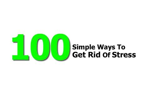 How To Get Rid Of Stress With A Home Bath Spa by 100 Simple Ways To Get Rid Of Stress