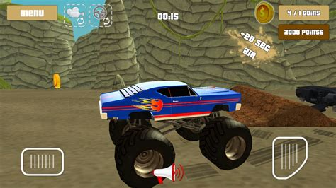 3d monster truck stunt racing monster truck racing hero 3d android apps on google play