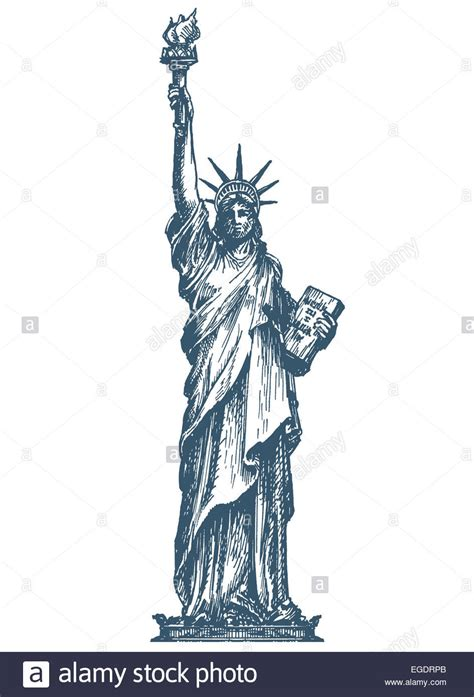statue of liberty drawing template usa logo design template united states or statue of
