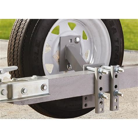 boat trailer tire tubes guide gear trailer side mount spare tire carrier 202950