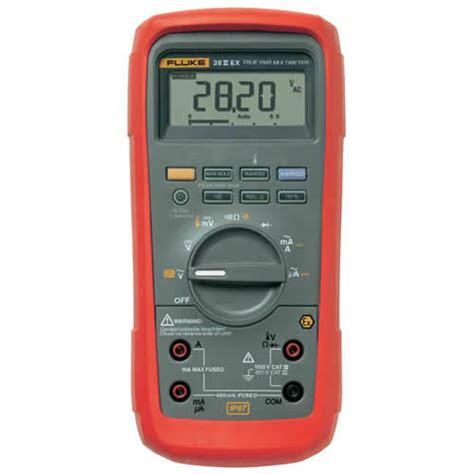 Jual Fluke 28 Ii Rugged Ip 67 Industrial Multimeter fluke 28 ii ex intrinsically safe true rms multimeter ebay