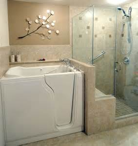 walk in bathtub in suite ideas