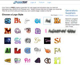 tutorial membuat logo yang bagus cara membuat logo keren di blog atau artikel dengan mudah