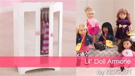 Kidkraft Doll Armoire by Kidkraft Lil Doll Armoire Item 60132