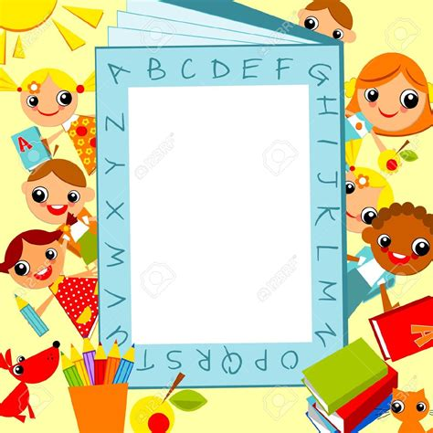 marcos para fotos de graduacion de preescolar gratis cute background for children google търсене marcos