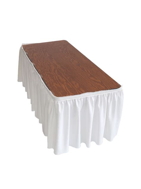 table skirt clip 10 5in table skirt w 15 tablecloths