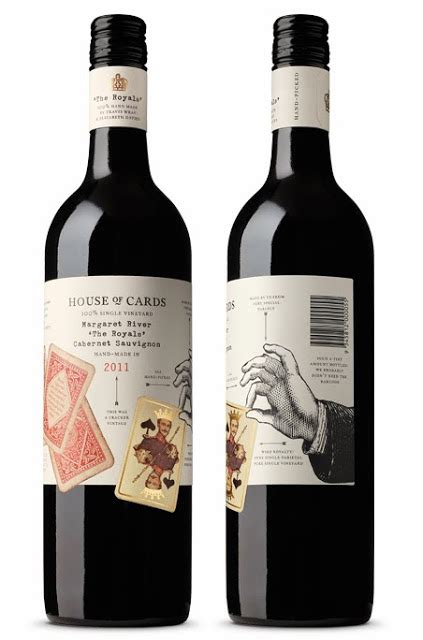 is house of cards over house of cards wine on packaging of the world creative package design gallery