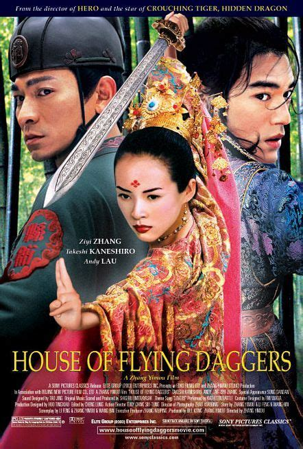 house of the flying daggers the cinematheque 2004 reviews house of flying daggers
