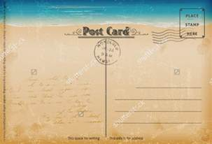 Vintage Postcard Template by 7 Vintage Postcard Templates Free Psd Ai Vector Eps
