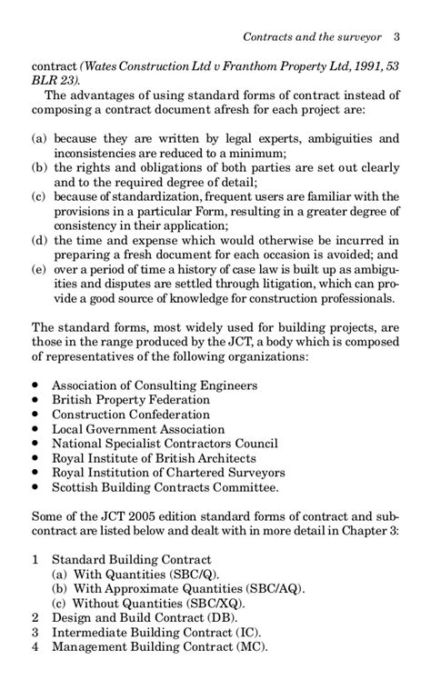 jct design and build contract 2005 edition contract practiceforsurveyors