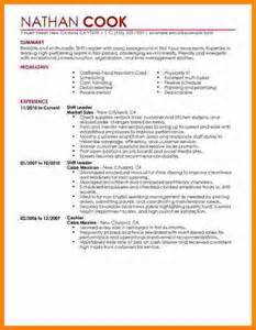 6 leadership resume examples ledger paper