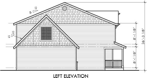Side View House Plans by Farm House Plan 4 Bedroom House Plan Bonus Room Plan 10123