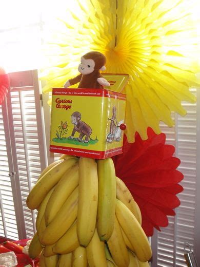 banana centerpiece curious george products i love