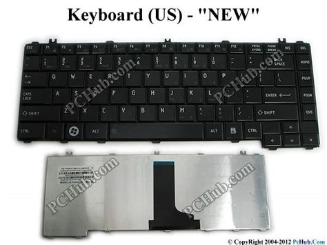 Keyboard Laptop Toshiba C640 Toshiba Satellite C640 Series Keyboard Aete2u00010 Us Aete2u00010 9z N4vgq 001