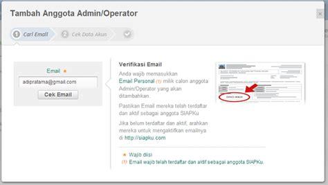 email kemenag simpatika penambahan anggota grup admin kemenag kab kota