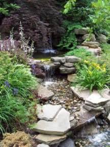 water feature gardening pinterest