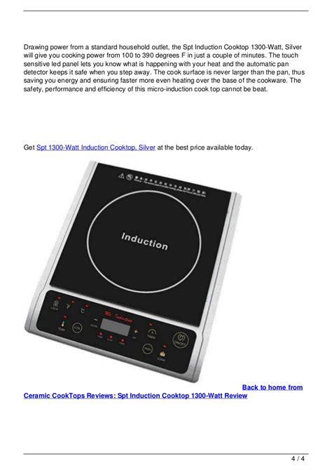 ceramic cooktops reviews ceramic cooktops reviews spt induction cooktop 1300 watt