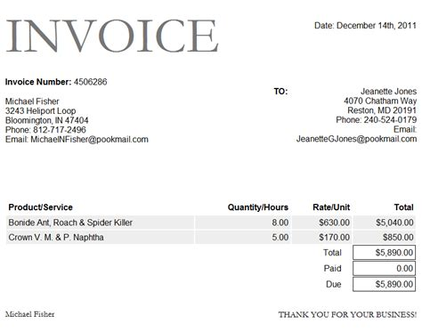 paid invoice receipt template paid invoice template word invoice exle
