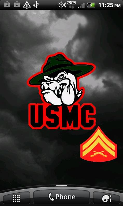 usmc wallpaper for iphone 6 united states marine corps iphone wallpaper allofpicts
