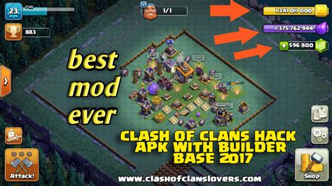 clash of apk mod december update clash of clans hacks mod apk with builder base 2018