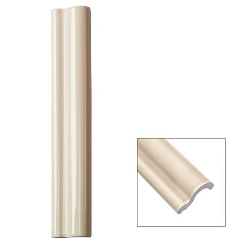 chair rail tile piccadilly vanilla chair rail ceramic tile liner