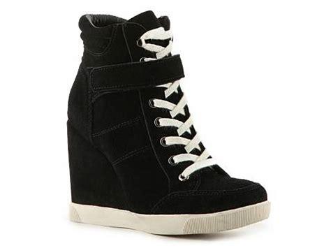 wedge sneakers dsw steve madden lleve suede wedge sneaker dsw