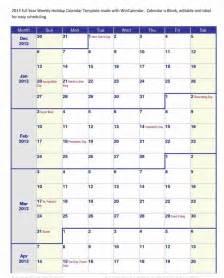 4 Month Calendar Template by Four Month Calendar Template Calendar Template 2017