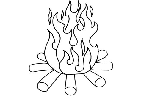 free coloring pages of y flames