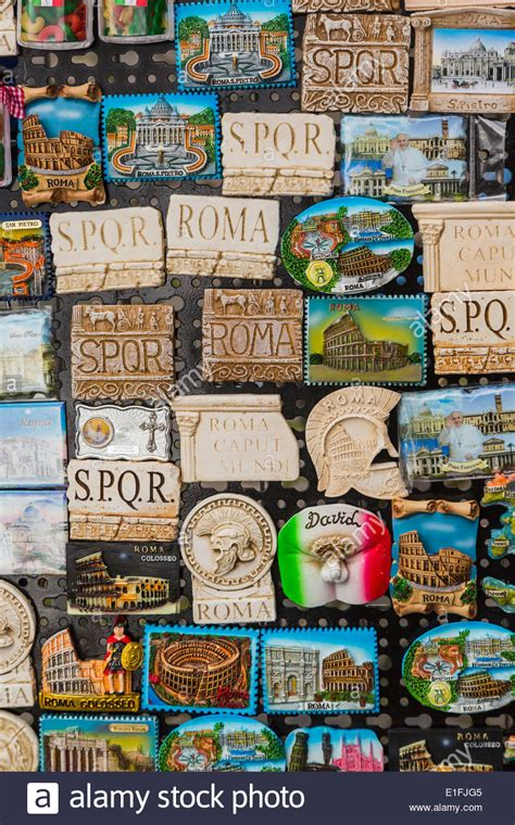 Souvenir Italia Tempelan Magnet Hiasan Rome rome italy fridge magnet souvenirs stock photo royalty free image 69799973 alamy
