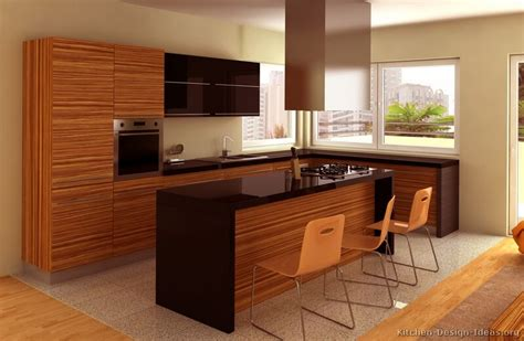 modern kitchen island design ideas pictures of kitchens modern medium wood kitchen