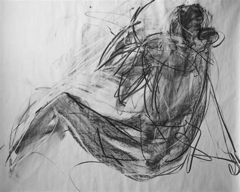 Cool Things To Draw With Charcoal by Charcoal On Paper 4x5