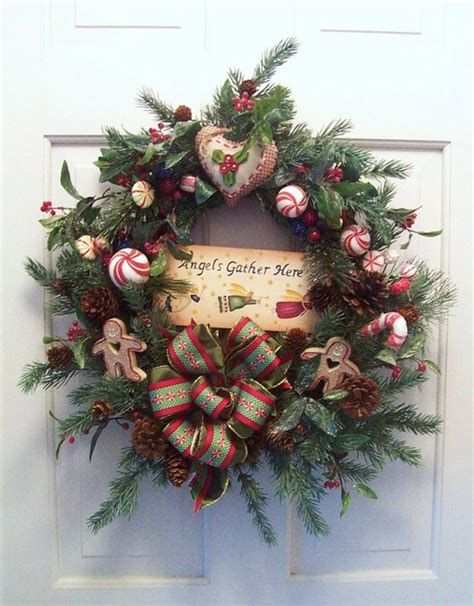 34 cool rustic christmas decorations and wreaths digsdigs