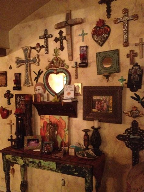 cross decorations wall 25 best ideas about mexican wall decor on