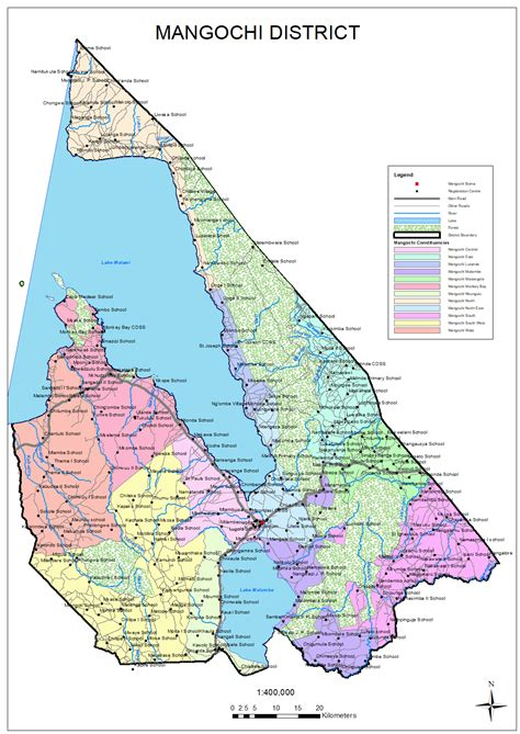 Maps District Malawi Electoral Commission