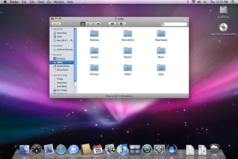 osx top bar os evolution microsoft windows taskbar vs apple os x