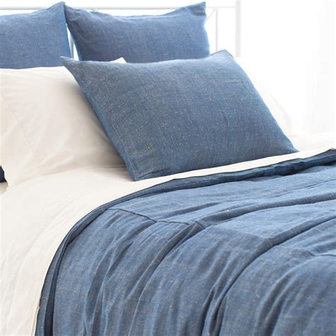chambray bed linen malaya chambray duvet cover by pine cone hill