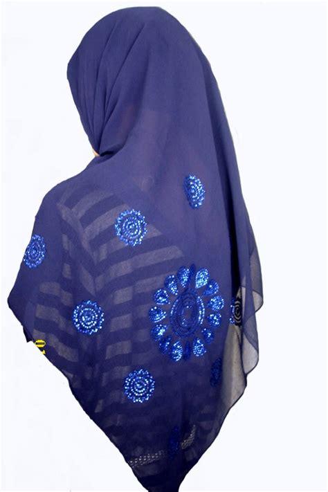 Kerudung Biru Tua grosir jilbab murah grosir jilbab jilbab murah