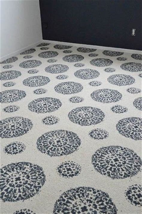 painted rug stencils 17 best ideas about painting carpet on paint carpet painting rugs and paint rug