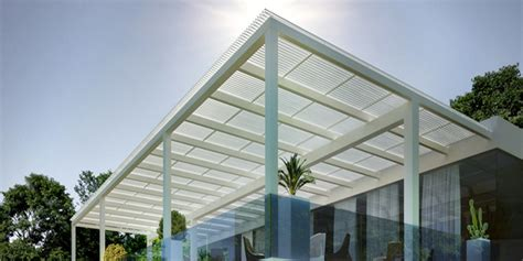 tettoia frangisole tettoia longway con lame frangisole orientabili