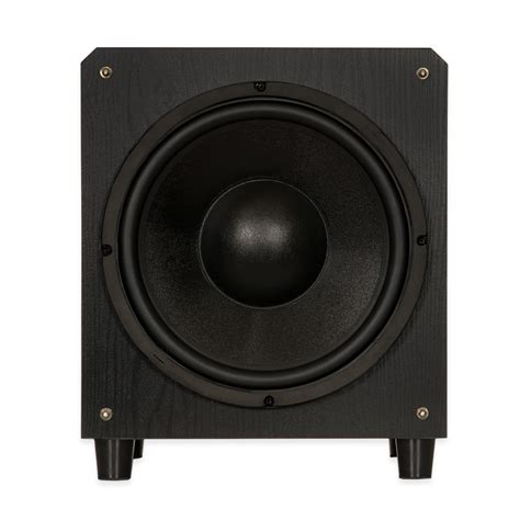 blue octave fs powered  subwoofer home theater front