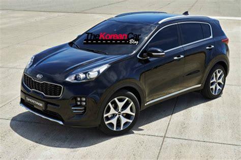 kia sportsage new kia sportage official pictures leaked the korean car