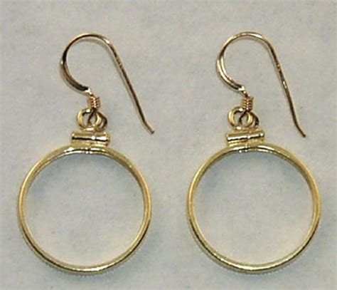 bezels for jewelry coin jewelry earring findings cent dime nickel coins gold