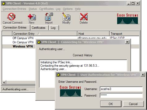 cisco login cisco vpn client firewall sandpresh