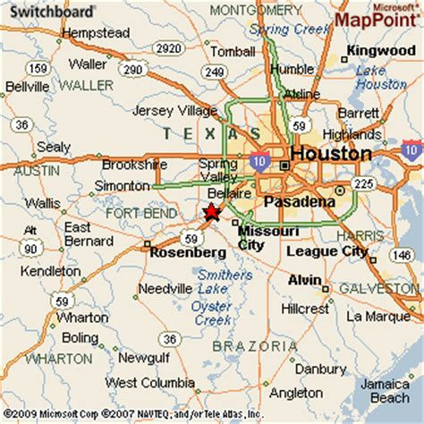 stafford texas map sugar land texas