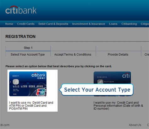 reset citibank online password citibank online sign on