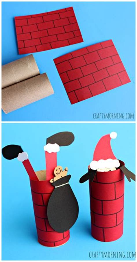 Toilet Paper Santa Craft - toilet paper rolls toilet paper and toilets on