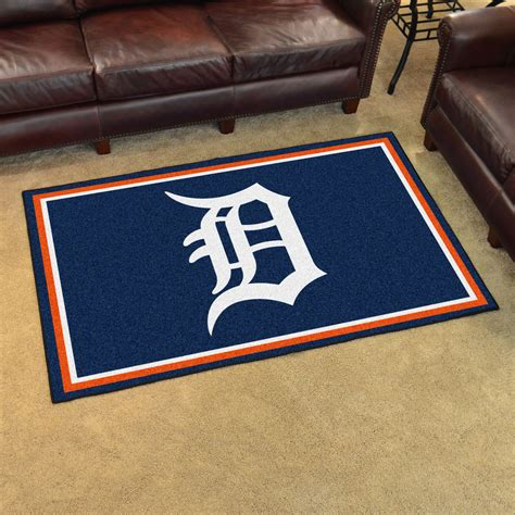 detroit tigers rug detroit tigers area rug 4 x 6