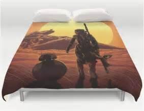 Zipper Bed Sheets Episode 7 Force Awakens Rey Star Wars Bb8 Droid Bedding