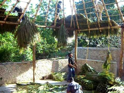 how to build a palapa roof youtube
